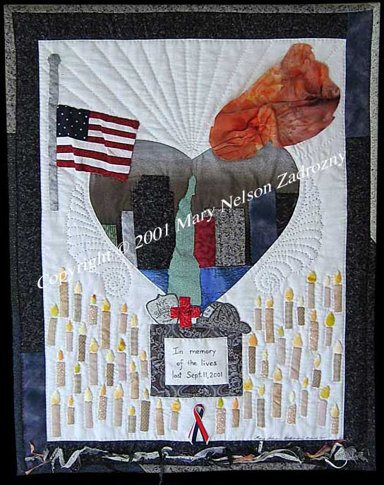 A Nation In Mourning Quilt