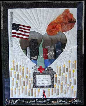 Nation In Mourning Quilt Front