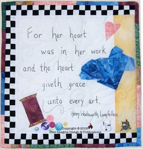 jazzy border art from heart photo