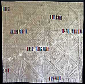 Back of Southern Belles Quilt