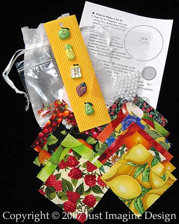 Fruit Punch Embellishment Kit