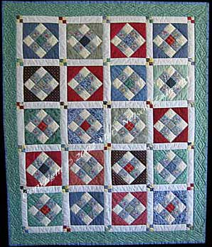 9 patch quilt photo