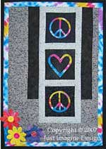 Peace of Your Heart Wall Hanging Version #3