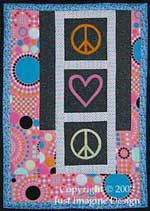 Peace of Your Heart Wall Hanging #3