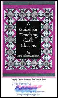 Guide for Teaching Quilt Classes Cover