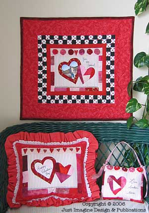 Love Spoken Here Valentine Quilt Projects